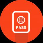 旅券パスポートスキャン画像