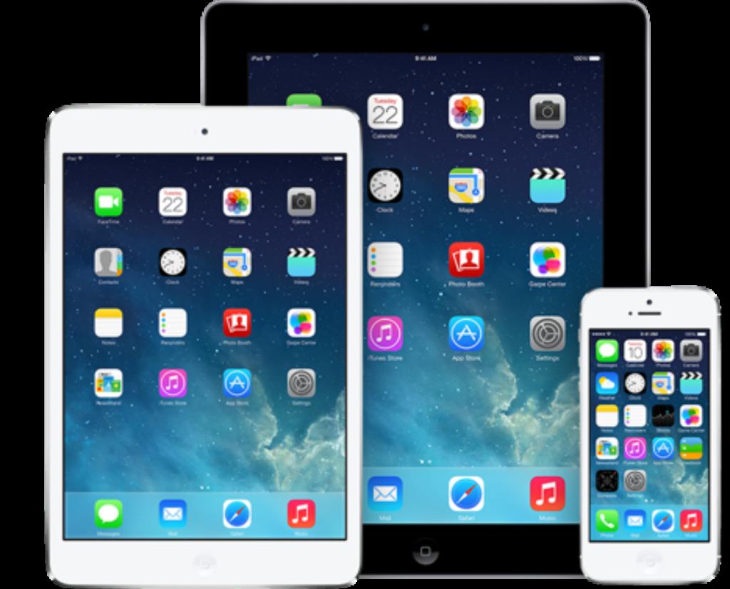 免税システム対応iOSデバイス図